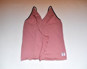 476297a2046da5 Vintage Dusty Pink Stretchy Racerback Tank Top