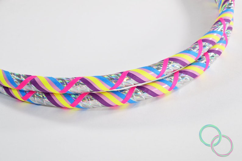 7811b4807 NEW Unicorn Tales GLOW Collapsible Hula Hoop   Made to Order