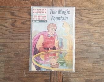Vintage The Magic Fountain Classics Illustrated Comics No 533