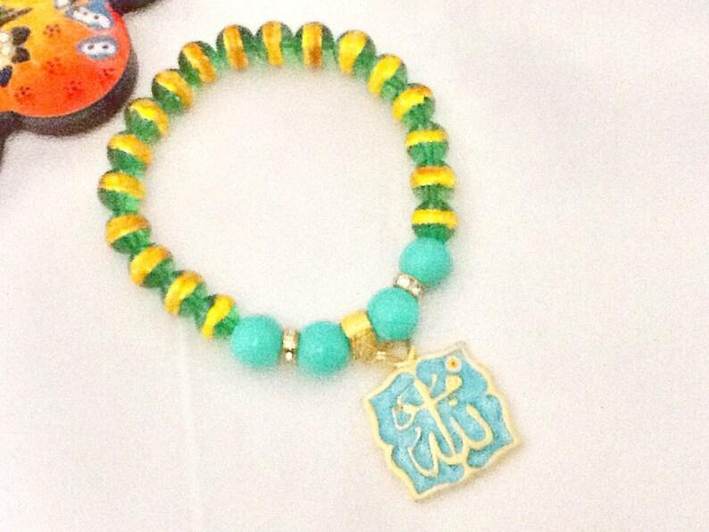 e938afeb9db7 VENTAARABESQUE pulsera estilo árabe Oriente joyería