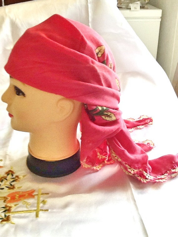 vente charpe de gypsy foulard boho foulard sur la t te etsy. Black Bedroom Furniture Sets. Home Design Ideas