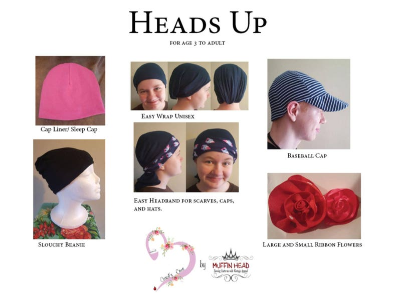 80466c0a14c Easy Chemo or Hair Loss Caps Bundle of 5 Patterns