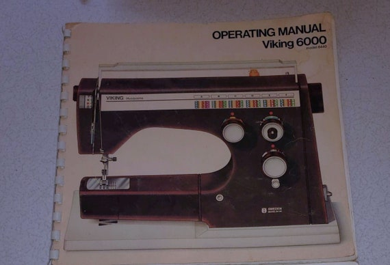 Husqvarna Viking 40 40 40 Two Book Bundle Real Books Etsy Unique Viking 6440 Sewing Machine