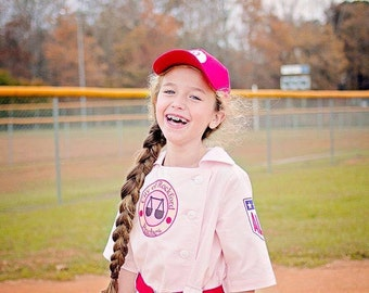 Vintage Baseball Uniform, Vintage Style Dress Pattern  and Coat Option Girls 2-8 Pattern Bundle with Free Iron on Transfer File