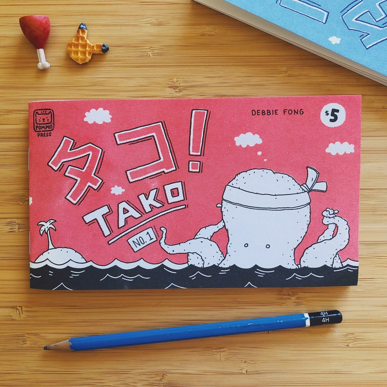 TAKO No. 1  A Book of Comic Strips image 0