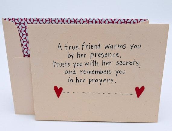 Sayings card friend best greeting Top 50