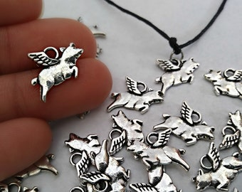 925 Silver Animal Series Monkey Fish Fox Deer Charm Pendant For Women Bracelet Diy Jewelry Beads & Jewelry Making