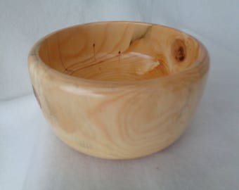 Blue Spruce Wood Bowl