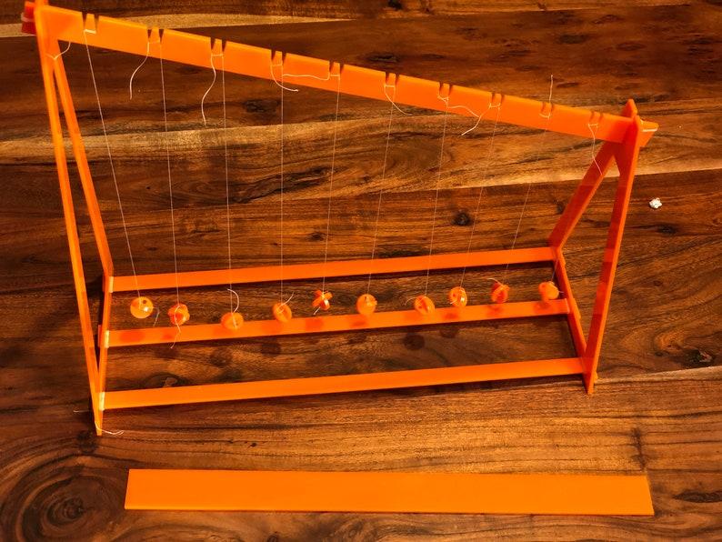 Wave Pendulum SVG file for laser cutter   Commercial or image 0