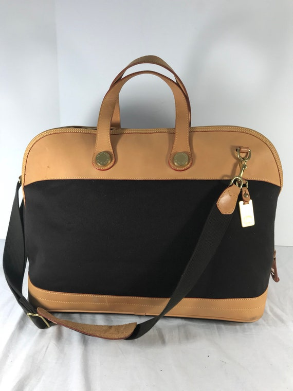 DOONEY and BOURKE Hard to Find Authentic Vintage Black Canvas   Etsy c972ba534d