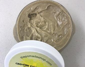 Coffee Hair Growth Pomade, Growth Fundamentals Coffee Pomade, 4 oz.