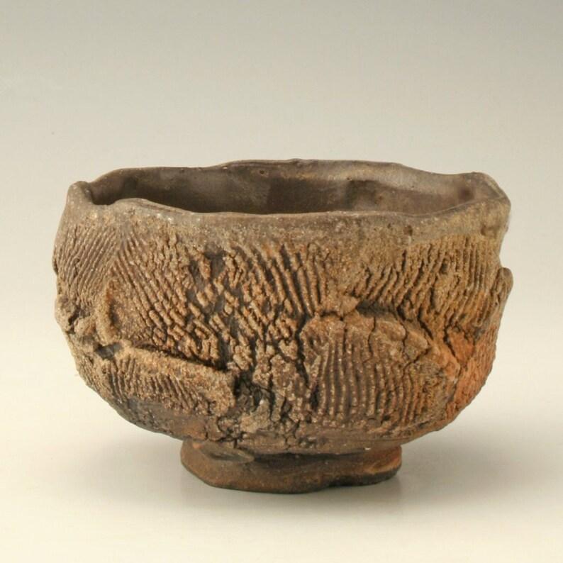 Japanese teacup Shikha Joshi artistic tea bowl wide yunomi tea ceremony bowl tea ceremony cup wabi sabi tea bowl Matcha chawan