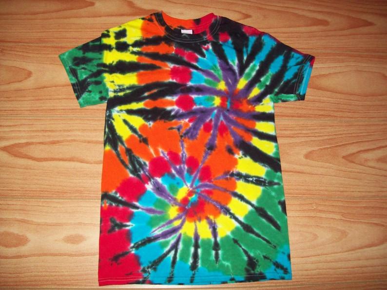 aafc43ed S M L Xl 2x 3x 4x 5x 6x Tie Dye Shirt Kids Adult Plus size | Etsy