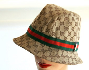 9625f0df Vintage 90's Gucci Fedora - Bucket Hat Size LARGE