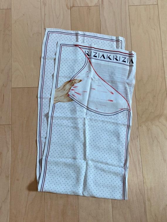Krizia Hand Scarf - image 3