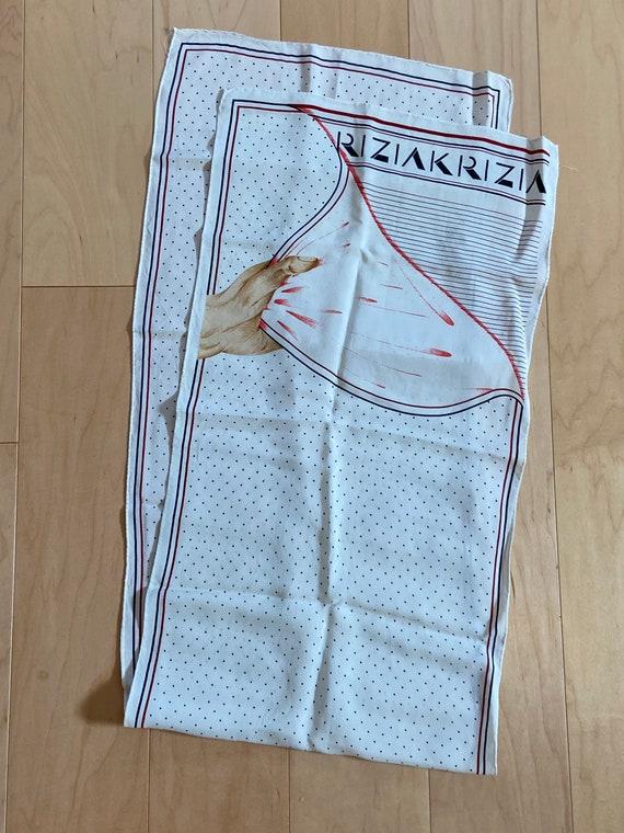 Krizia Hand Scarf - image 4