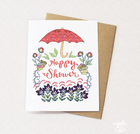 happy shower greeting cards baby shower card engagement bridal shower card greeting cards paper goods