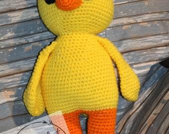 Crochet Duck Stuffy