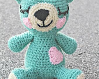 Stuffed Crochet Bear
