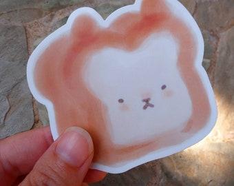 Dog Bread Vinyl Sticker