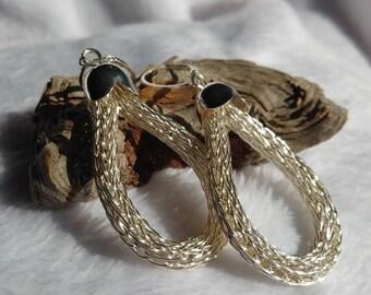 Viking Knit Drop Earrings