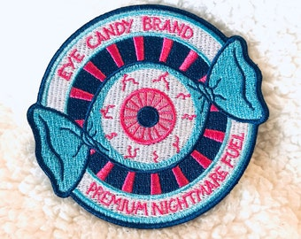 Eye Candy Logo Patch