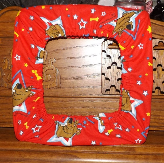 Q Snap Covers Grime Guards Scooby Doo Fabric Various Etsy