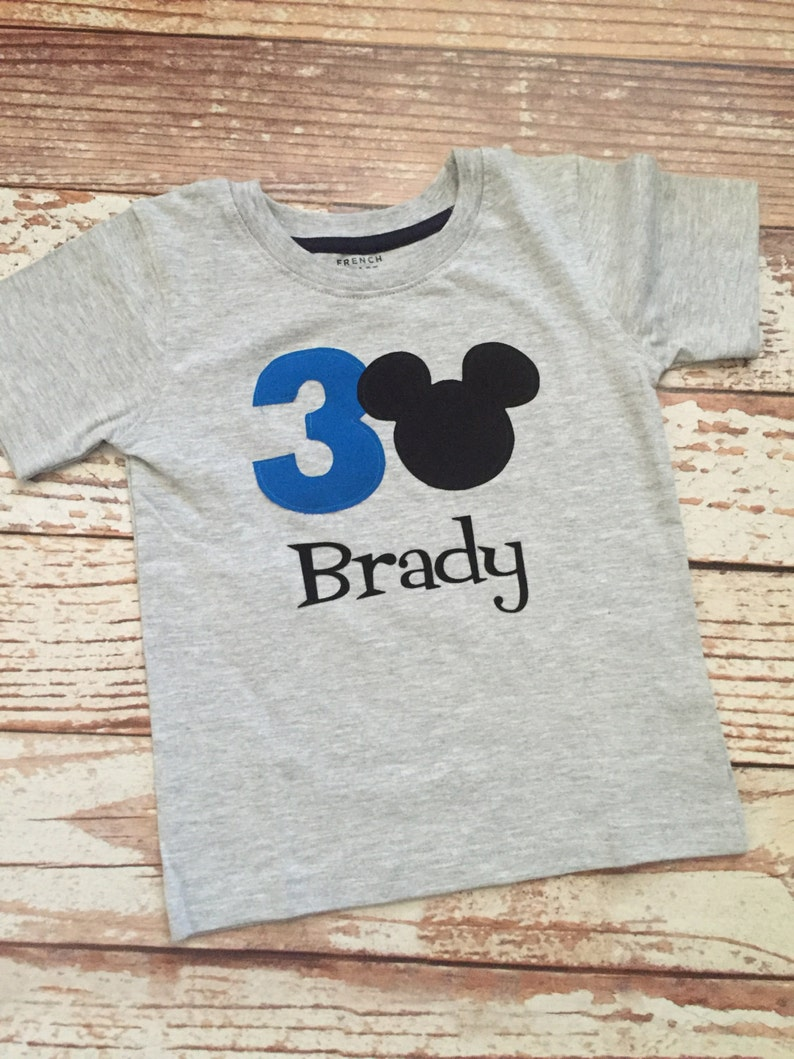 Disney Boys Mickey Mouse T-shirt Aged 3-4 Years