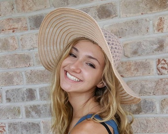 bccfeaebcd4 Wide Brim Straw Hat