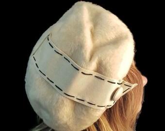 cf81bb40c Betmar fur hat | Etsy
