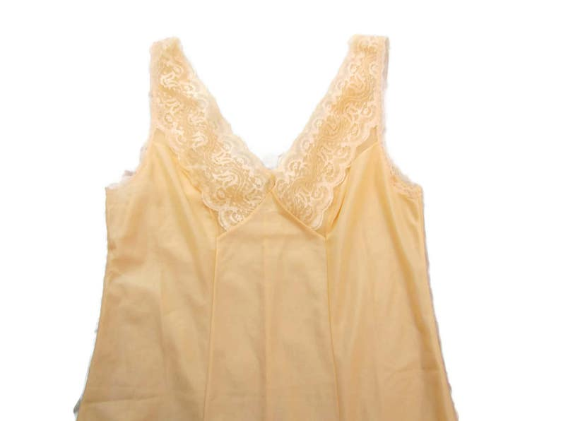 Vintage Slip Dress Womens Slips Pink Slip Lace Slip Full Length Dress Slip Adjustable Straps Long Slips For Dresses Nylon Nightgown