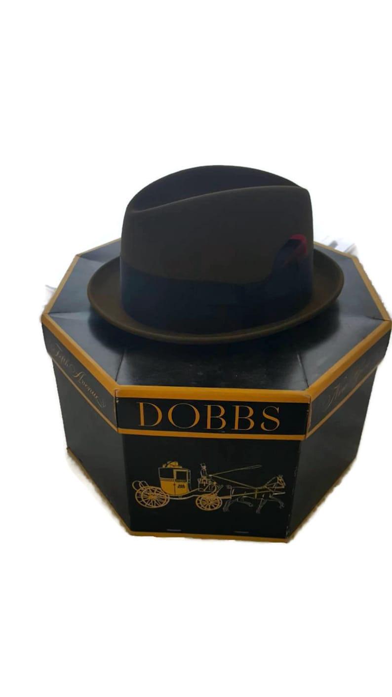 ca2f2b456a356 Dobbs Hat Box Dobbs Fedora Mens Hats Stetson Fedora Mens