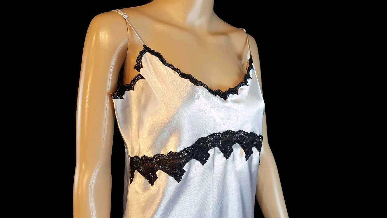 Victoria Secret, Nightgown, Women, Satin Nightgown, Vintage ...