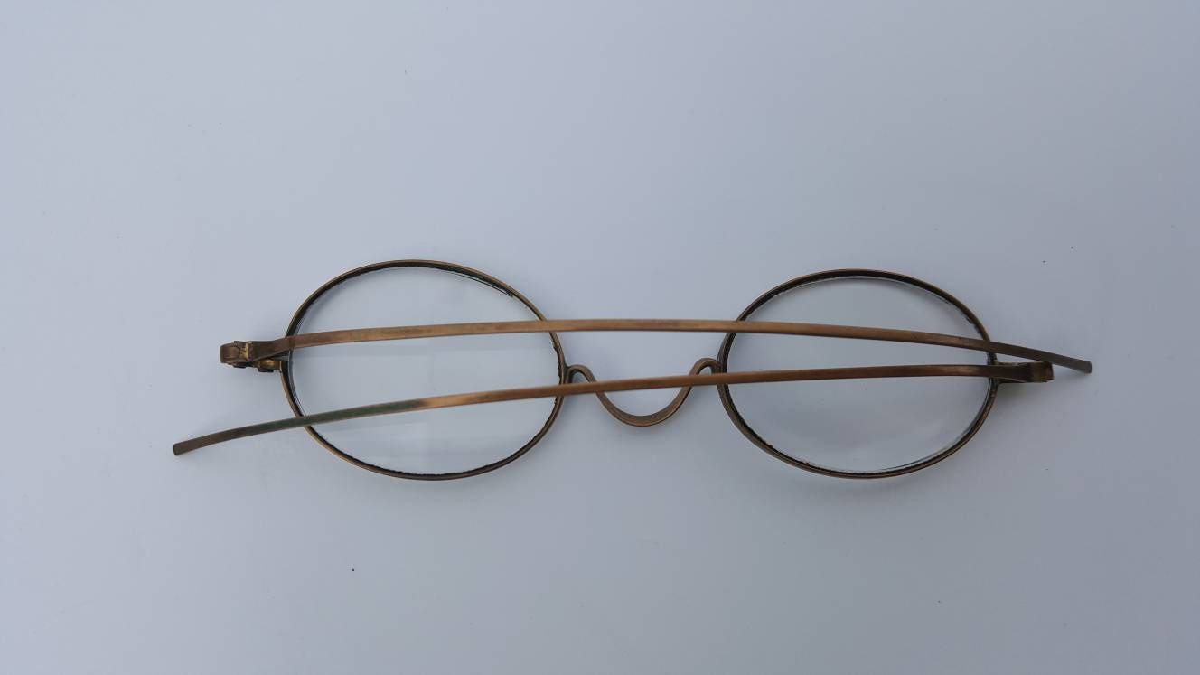 Antique Spectacles, Vintage Eye Glasses, 1800s Eyeglasses, Wire ...