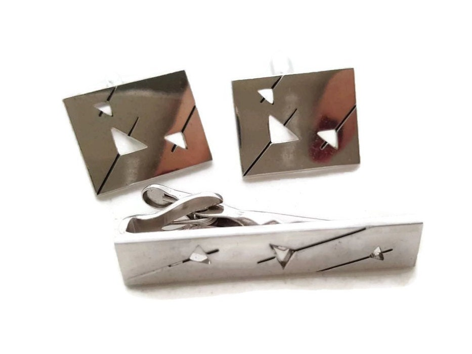 3923637ca4cd Martini Cuff Links Silver Vintage Swank Cuff Link Set, Swank Cufflinks,  Square Swank Cuff links, Silver Suit & Tie Accessories