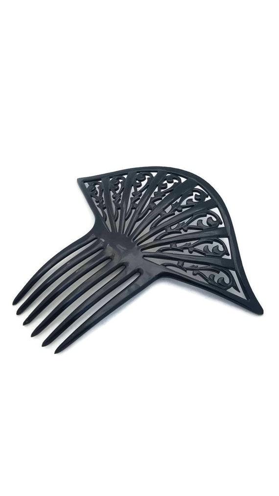 VINTAGE ART DECO,Bakelite Antigue Large Hair Comb