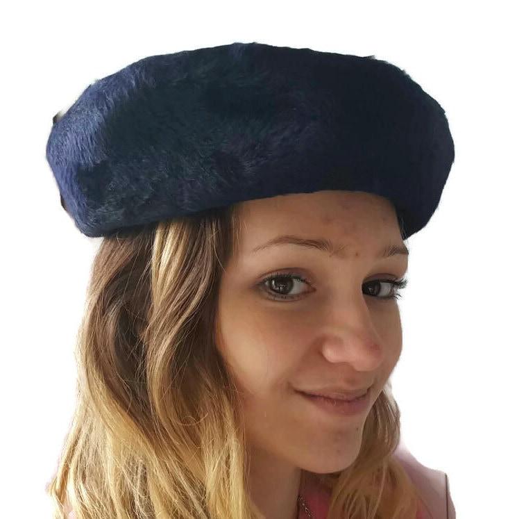 Wool Fur Hat Designer Empress Hat Mr Phil Vintage Black Hats