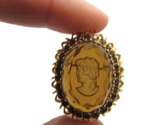 Site officiel la clientèle d'abord vendu dans le monde entier Camée broche, camée Antique, strass, camée, camée de verre, bijoux camée,  bijoux victorienne, Cameo Intaglio, pendentif camée, camée Portrait