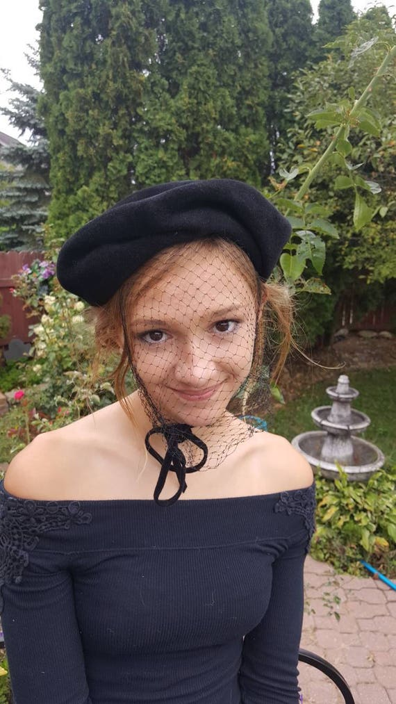 Black Fur Hat Hat With Veil Pllbox Fascinator Hats For  28adf619bea
