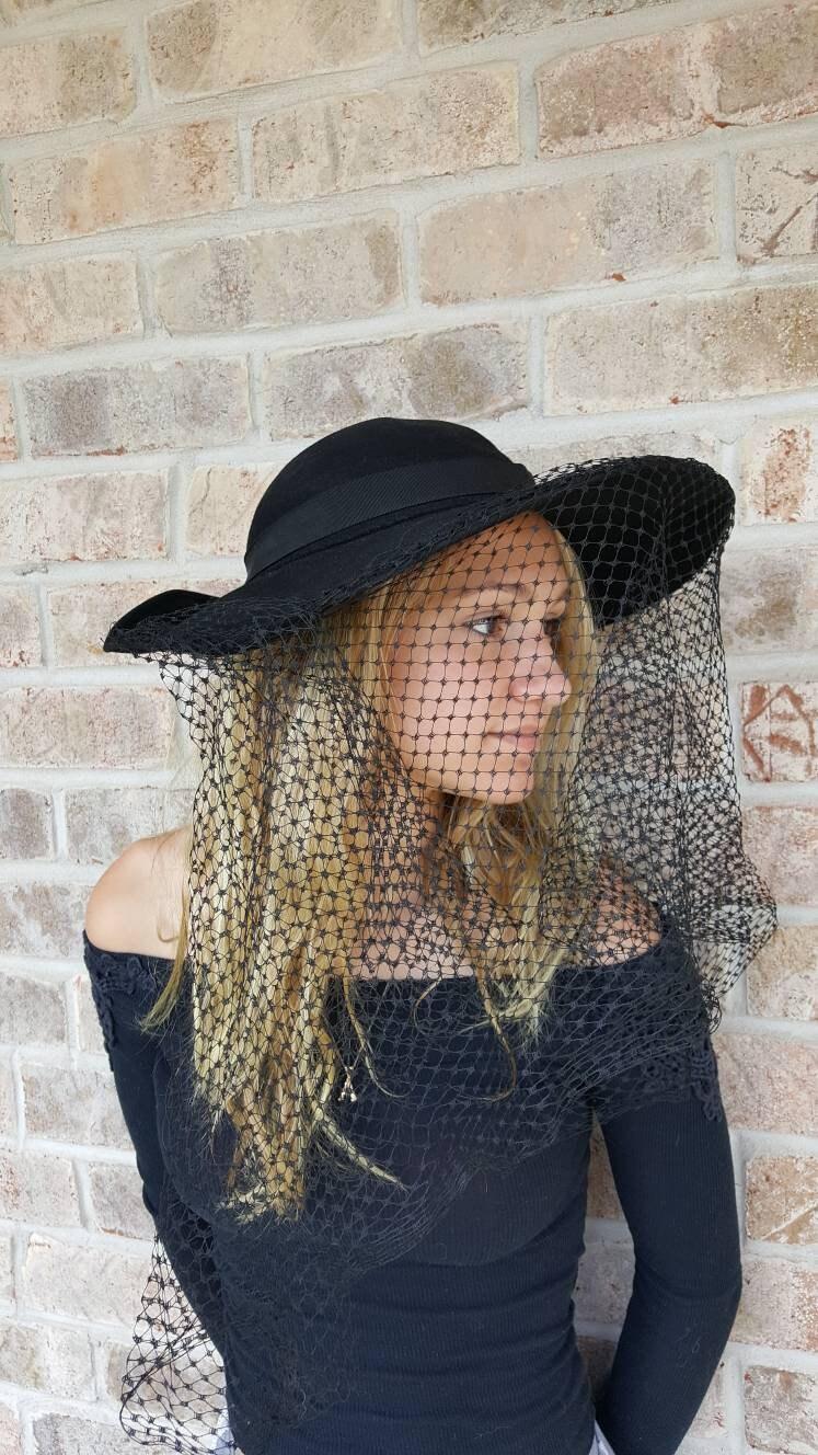 Black Hat with Veil 8851dec2183