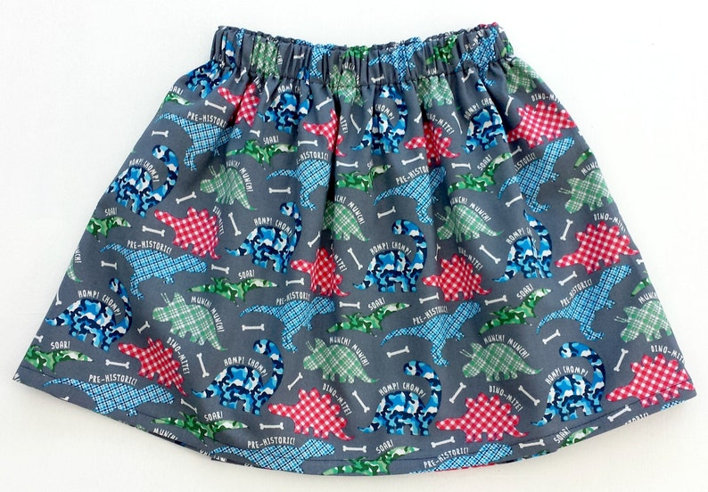 0f63795d76ba Dinosaur Skirt Girls Dinosaur Skirt Girls Party Skirt | Etsy