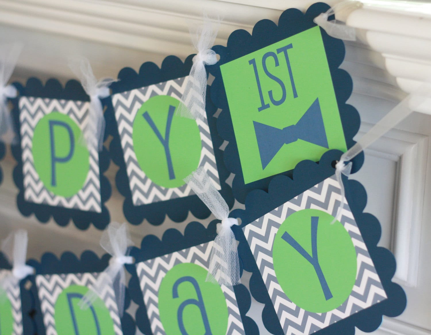 mustache bash happy birthday chevron little man or happy birthday banner lime green grey navy ask about our party pack special