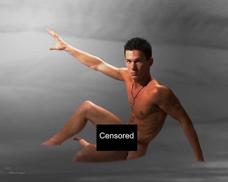 Dreams in the Mist Gay Art Male Art Nude Photo Print by