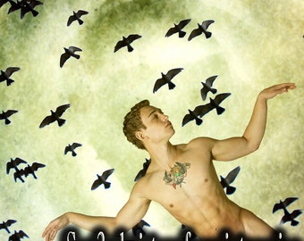 Trials of Eros II, Fine Art Nude Male Photo Print by Michael Taggart Photography