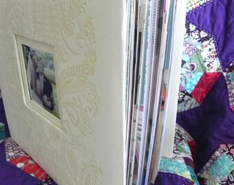CUSTOM 12x12 Wedding Scrapbook Album, 50 pages