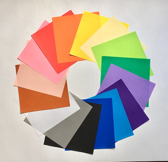 Extra Large 12 X 12 Inch Origami Paper Sheets Japanese Origami Etsy