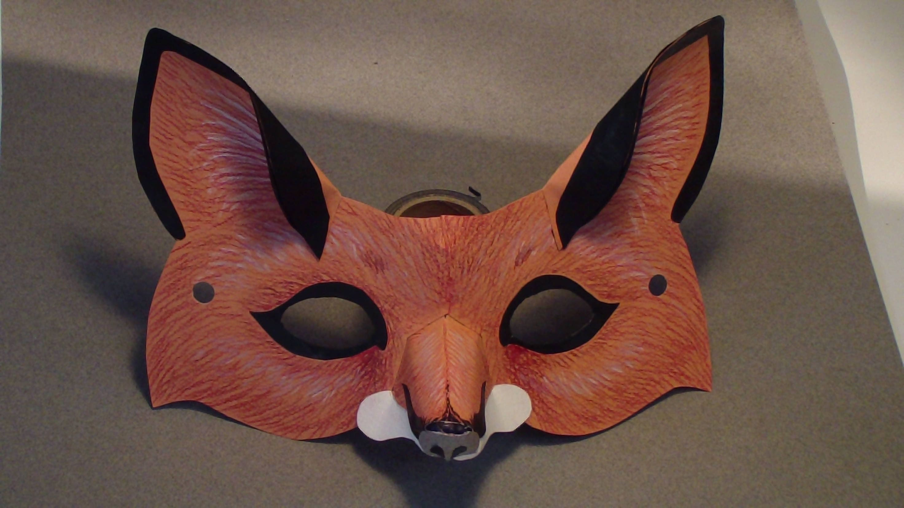 Mask And Ear Templates Etsy