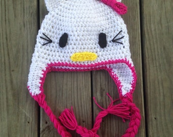 c4bfc60a0 Hello kitty hat | Etsy