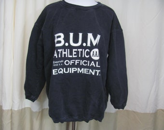 851aef41 Vintage 1993 B.U.M. Sweatshirt / Pullover / BUM Equipment / Athletics /  Pullover / Sweatshirt / 90s Clothing