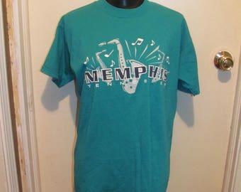 Vintage 90s MEMPHIS Tennessee T Shirt